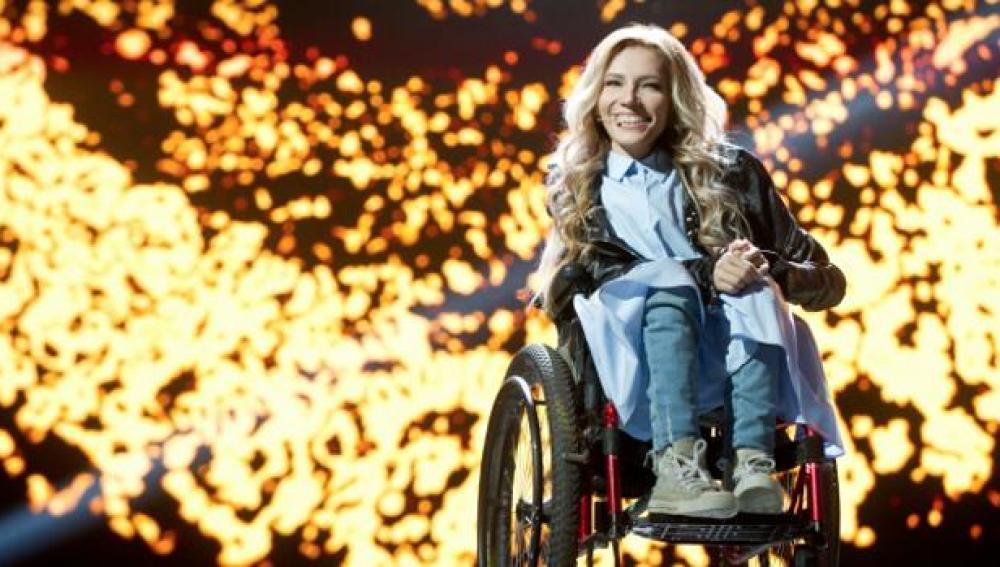 Julia Samóylova, representante de Rusia en Eurovisión 2017