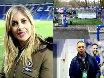 Susana Guasch, en el King Power Stadium