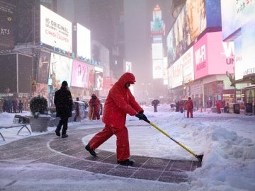 Tormenta de nueve en Nueva York