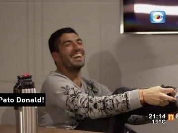 Frame 20.780075 de: La entrevista más íntima de Luis Suárez y Leo Messi a una televisión uruguaya