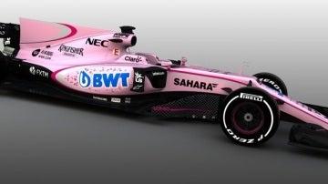 El Force India de 2017