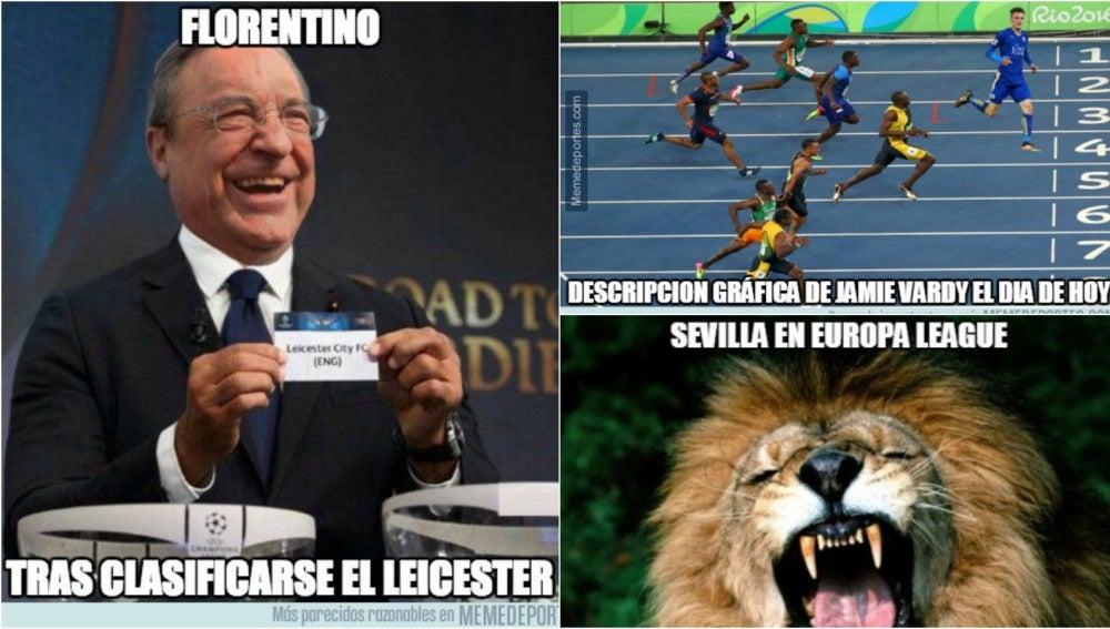 Los mejores memes del Sevilla-Leicester