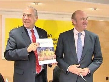 Frame 8.578336 de: La OCDE eleva al 2,5% su previsión de crecimiento para España en 2017, lo que coincide con el pronóstico del Gobierno