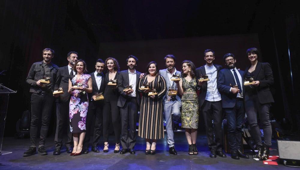 Ganadores de los Premios Unión de Actores