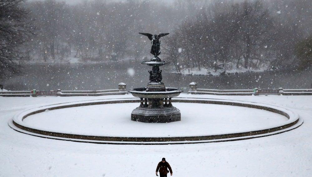 Una fuerte nevada en Nueva York ha causado fuertes consecuencias en la ciudad
