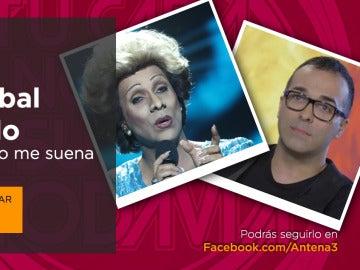 Cristóbal Garrido, el ganador de la primera gala de 'Tu cara no me suena todavía', en directo en Facebook Live