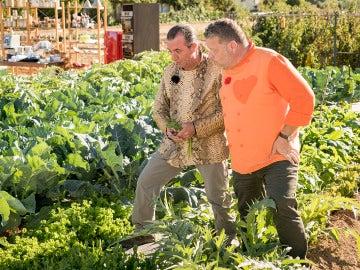 Floren Domezáin, el 'rey de las verduras', invitado de honor en el quinto programa de 'Top Chef'