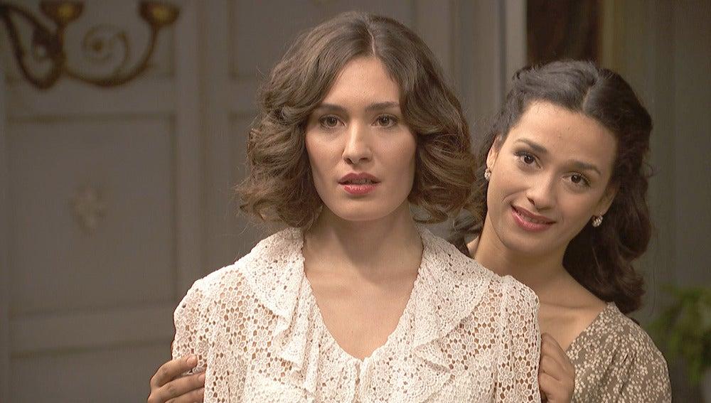 Camila se queda sin palabras al ver a la nueva Beatriz