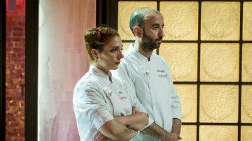 Melissa o Marcano, uno de ellos recogerá sus cuchillos para abandonar 'Top Chef'
