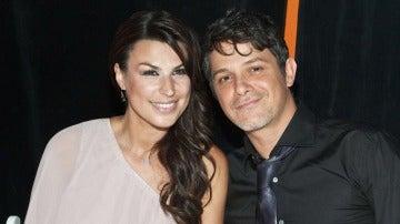 Raquel Perera y Alejandro Sanz