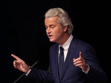 Geert Wilders, el líder del Partido por la Libertad (PVV)