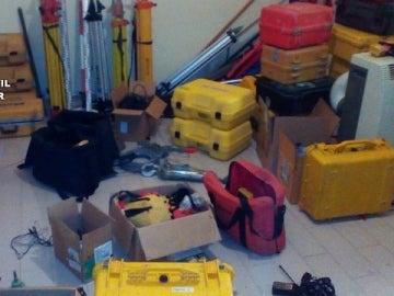 Recuperados objetos valorados en más de tres millones de euros procedentes de cientos de robos