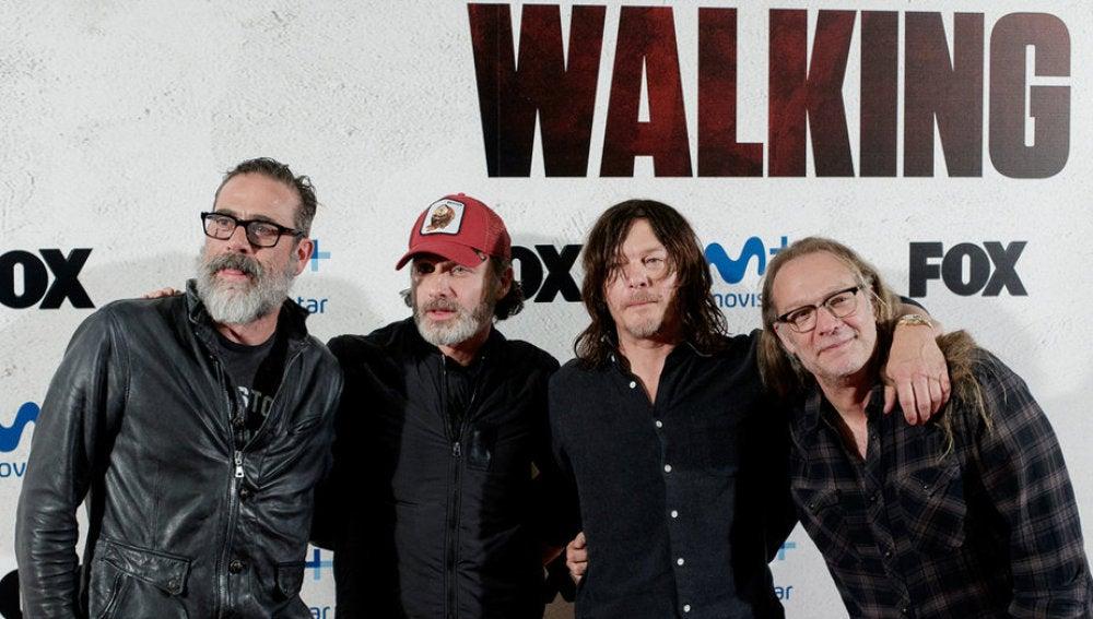 Protagonistas de 'The Walking Dead' en Madrid