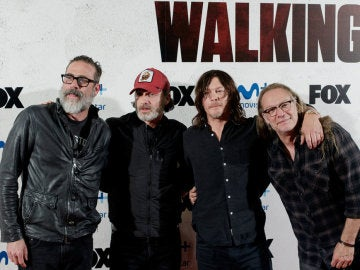Protagonistas de 'The Walking Dead' en Madrid