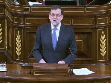 Frame 36.078468 de: Rajoy pide que todos los partidos estén unidos en la defensa de la consolidación de la UE