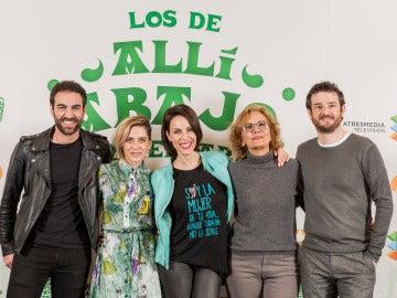 Antena 3 estrena la tercera temporada de 'Allí abajo': más norte y muchas risas