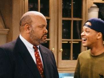 El Tío Phil, James Avery, con Will Smith