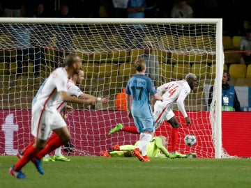 Bakayoko anota el 3-1 definitivo ante el City