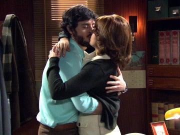 Jaime y Nuria desatan su pasión tras la confesión de sus sentimientos