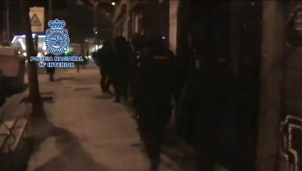 Frame 1.038285 de: 48 detenidos y 600 joyas recuperadas en macrorredada contra bandas georgianas