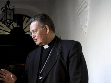 Imagen de archivo del obispo emérito de Cádiz, Antonio Ceballos