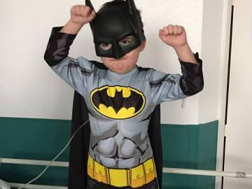 El niño de cuatro años con leucemia