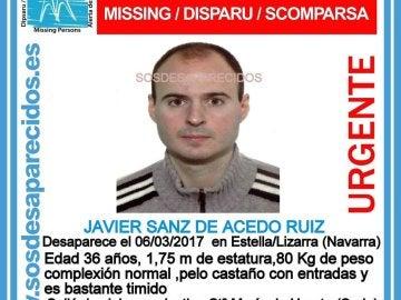 Joven de 36 años desaparecido en Estella (Navarra)