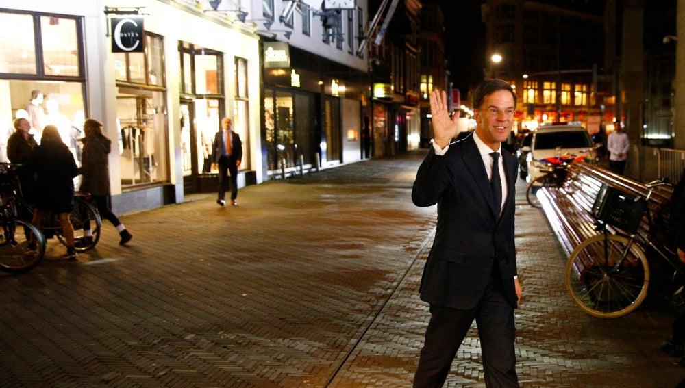 El primer ministro holandés Mark Rutte
