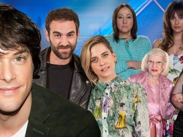 Los protagonistas de 'Allí Abajo', y de la película 'El Bar', invitados de la semana en 'El Hormiguero'