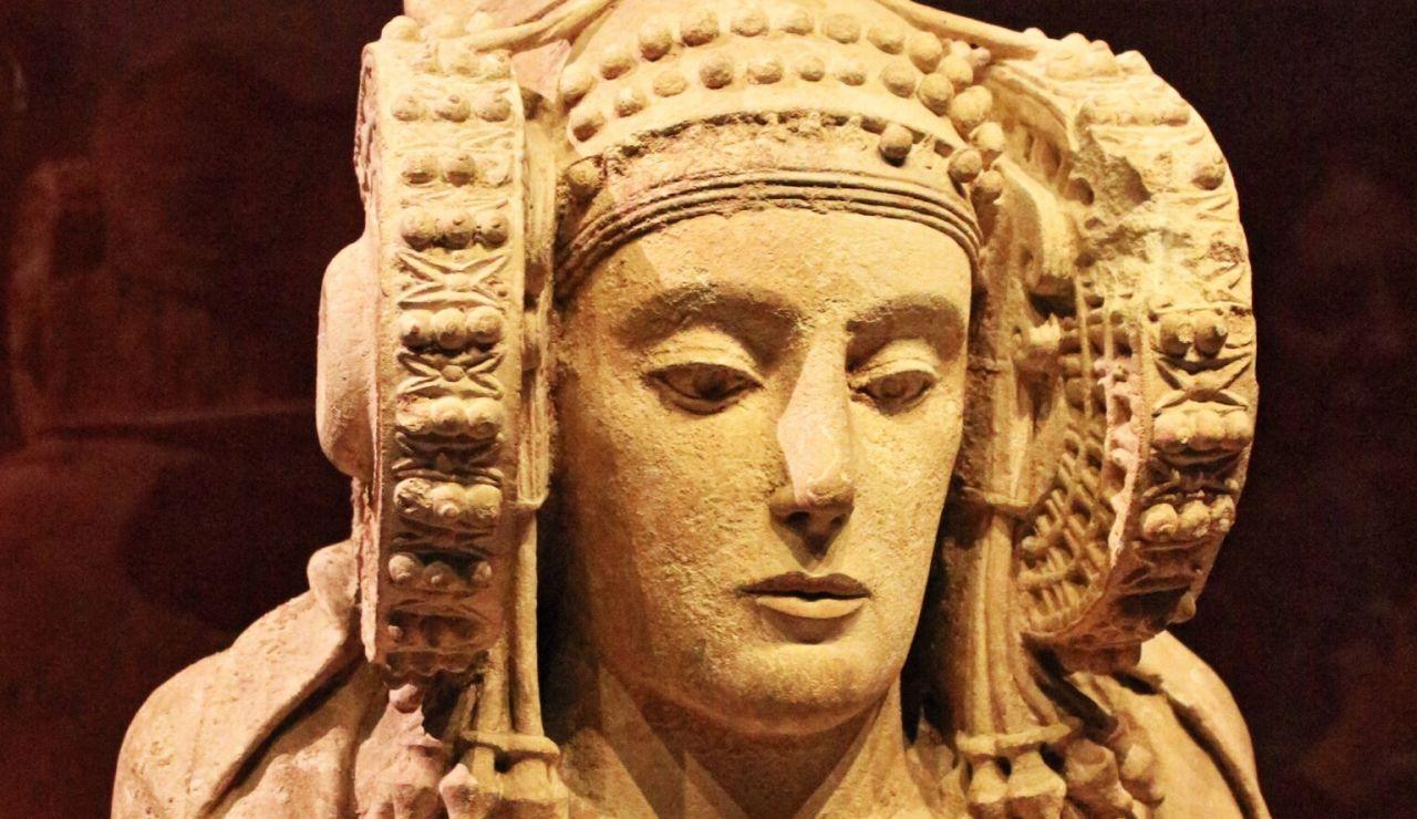 La Dama de Elche en el Museo Arqueológico Nacional (MAN) de Madrid.