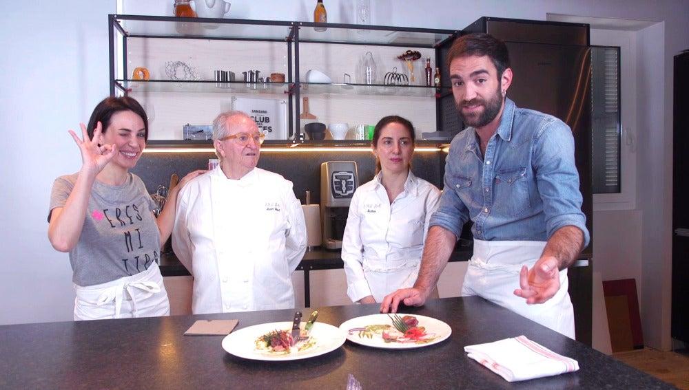 Jon Plazaola, Nerea Garmendia, Juan Mari y Elena Arzak os invitan al estreno de la tercera temporada de 'Allí Abajo'