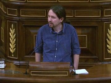 """Frame 4.803386 de: Pablo Iglesias: """"Cortar el rabo a un perro es una salvajada"""""""