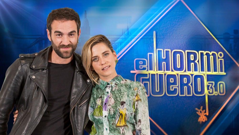 María León y Jon Plazaola, protagonistas de 'Allí Abajo', se divertirán el lunes en 'El Hormiguero 3.0'