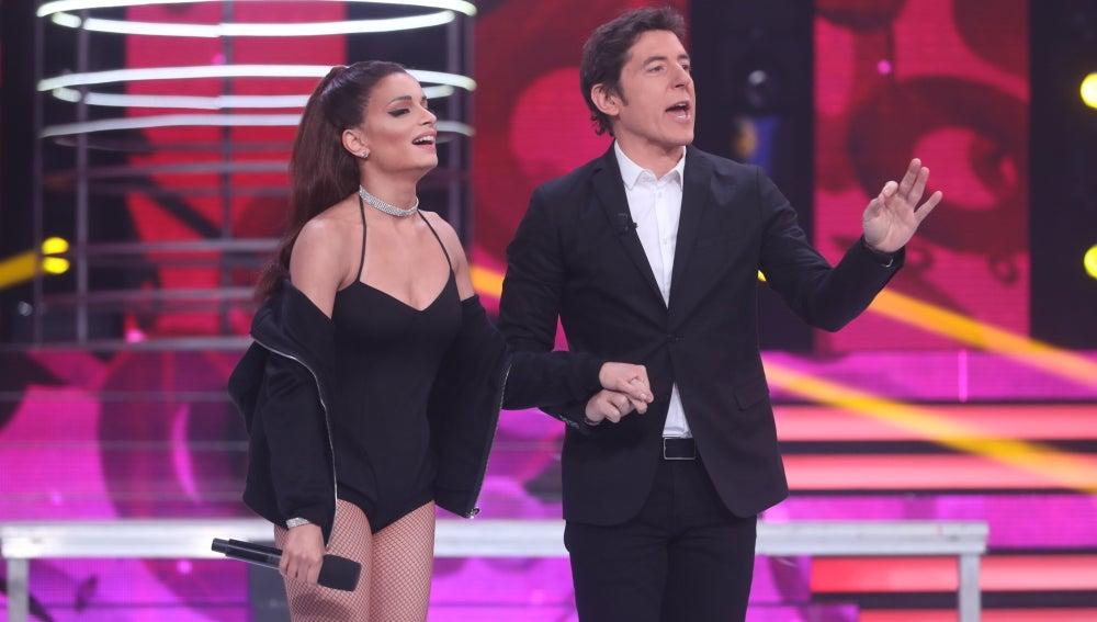 """Mónica Naranjo, a Patricia: """"Me ha encantado, ha sido una actuación brillante"""""""
