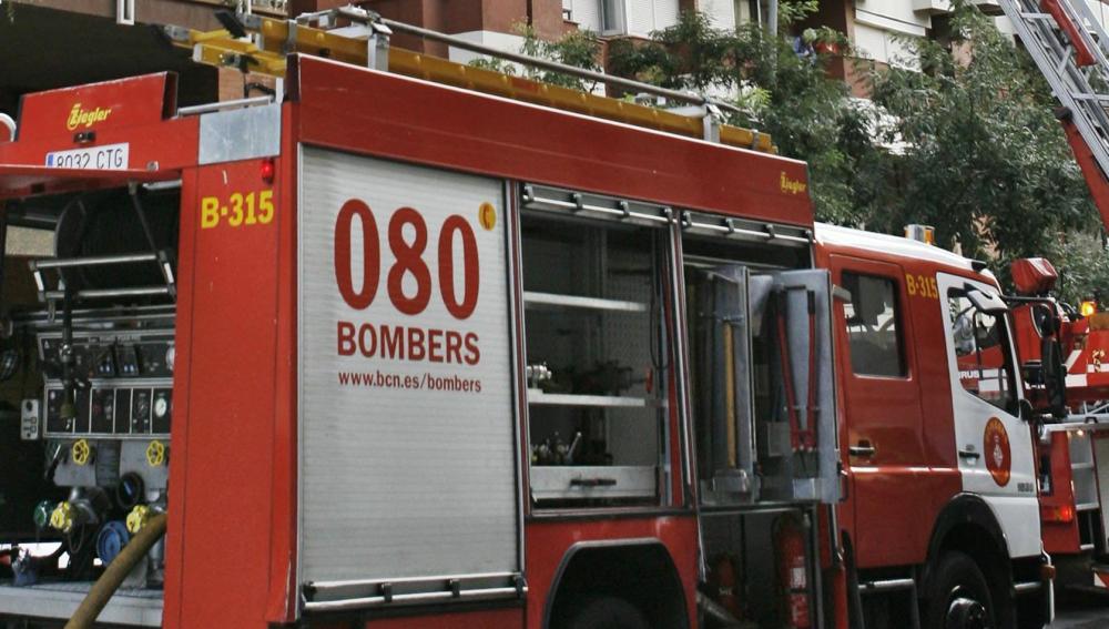 Camión de bomberos de Cataluña