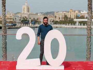 Mario Casas en Málaga presentando 'El Bar'