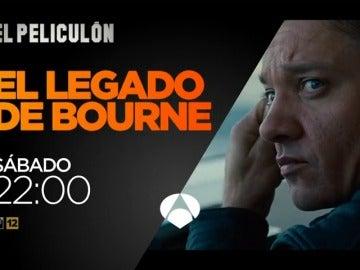 Frame 9.870847 de: 'El Legado de Bourne' y 'Con derecho a roce' en El Peliculón de Antena 3