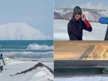 Surf en las aguas más frías del Planeta