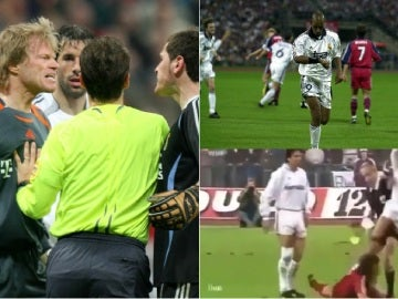 Diferentes momentos de duelos entre Bayern y Real Madrid