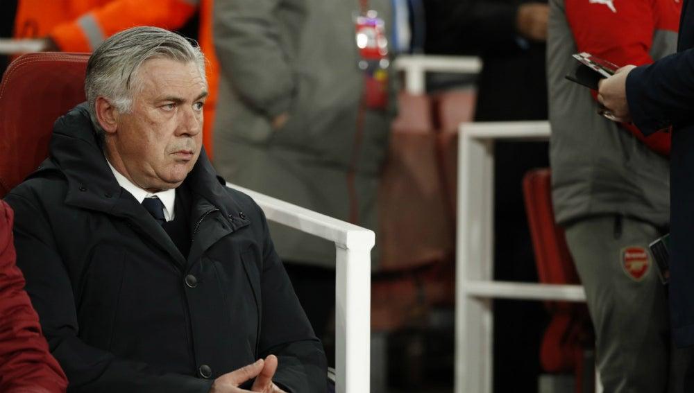 Ancelotti, en el banquillo del Bayern