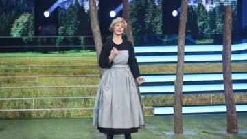 Mª Dolores Ballester se convierte en una dulce Julie Andrews en 'The sound of music'