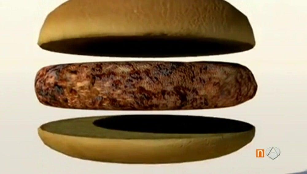 Frame 36.705 de: Tras la primera hamburguesa 'in vitro' llega ahora la carne sintética de pollo y de pato