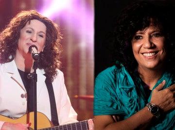 Rosana felicita a Keunam por su imitación en 'Tu cara no me suena todavía'
