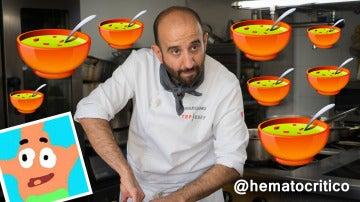"""""""Marcano: tenemos sopa, insisto en la sopa, la sopa me gusta más"""", por @Hematocritico"""