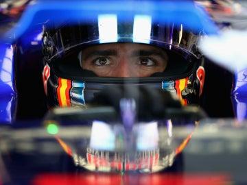 Sainz, en el Toro Rosso