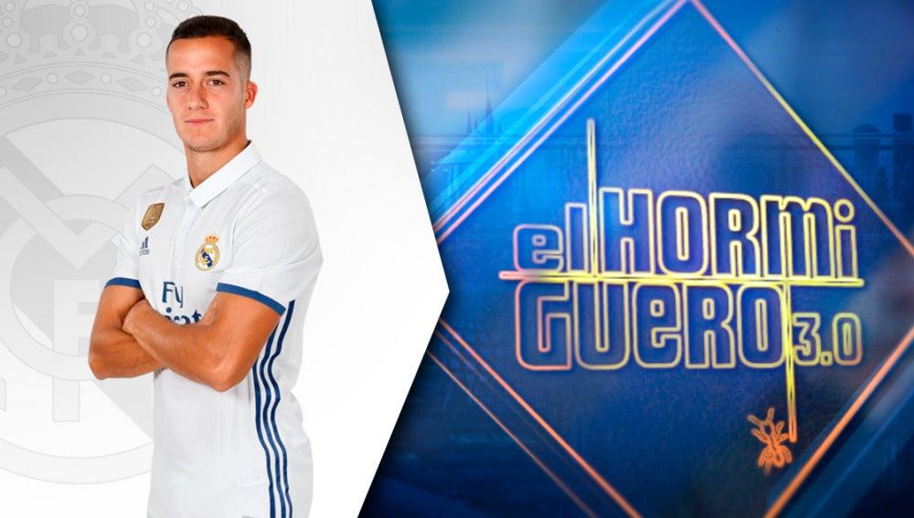 El jugador del Real Madrid Lucas Vázquez jugará el partido de su vida en 'El Hormiguero 3.0'