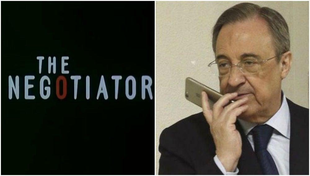 Florentino Pérez, el negociador