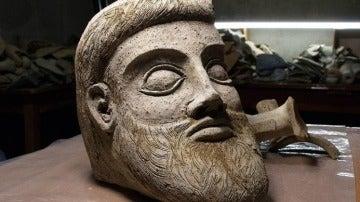Hallan un dios griego en el fondo del mar Negro