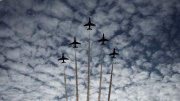El rastro que dejan los aviones, calificado como una especie de nubes
