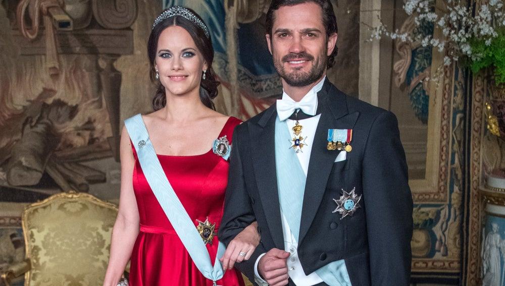 Carlos Felipe y Sofia de Suecia reaparecen tras anunciar que son padres